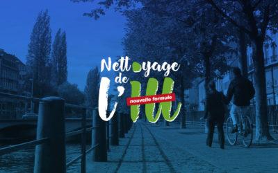 [Événement] Nettoyage de l'Ill – Grande opération de collecte de déchets dans l'Eurométropole de Strasbourg – du 21 novembre 2020 jusqu'à fin janvier 2021