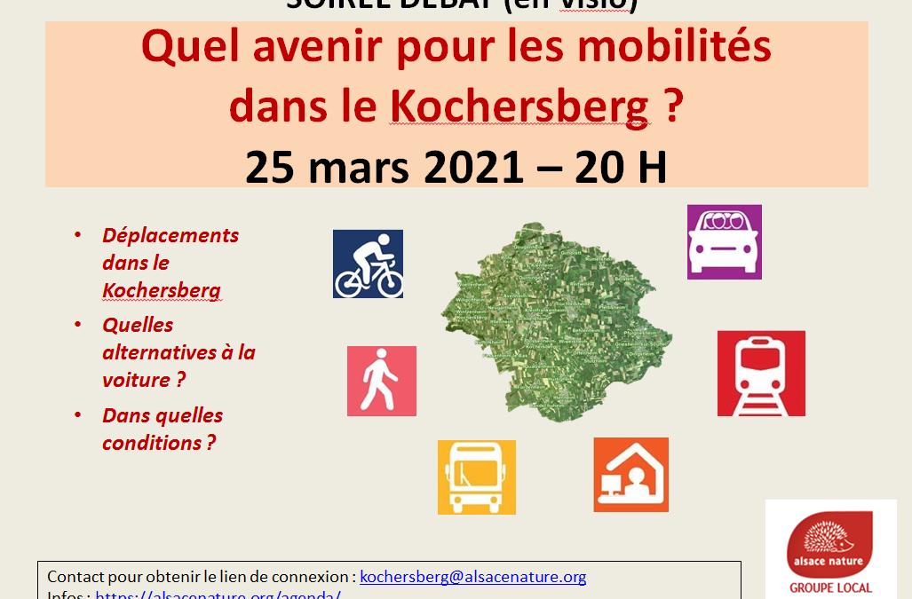 Soirée débat (en visio) : Quel avenir pour les mobilités dans le Kochersberg ?