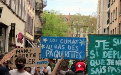 Loi CLIMAT – Retour en images sur La marche d'après du 9 mai