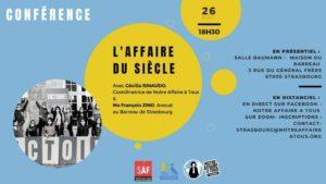 [Conférence] Notre affaire à tous @ Strasbourg