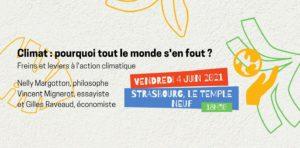 [Table ronde] Climat : pourquoi tout le monde s'en fout ? @ Strasbourg | Strasbourg | Grand Est | France