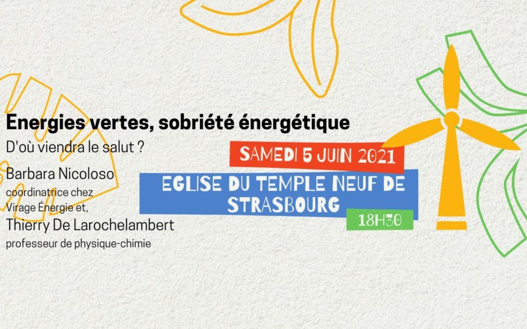 [Table ronde] Energies vertes, sobriété énergétique : d'où viendra le salut ?