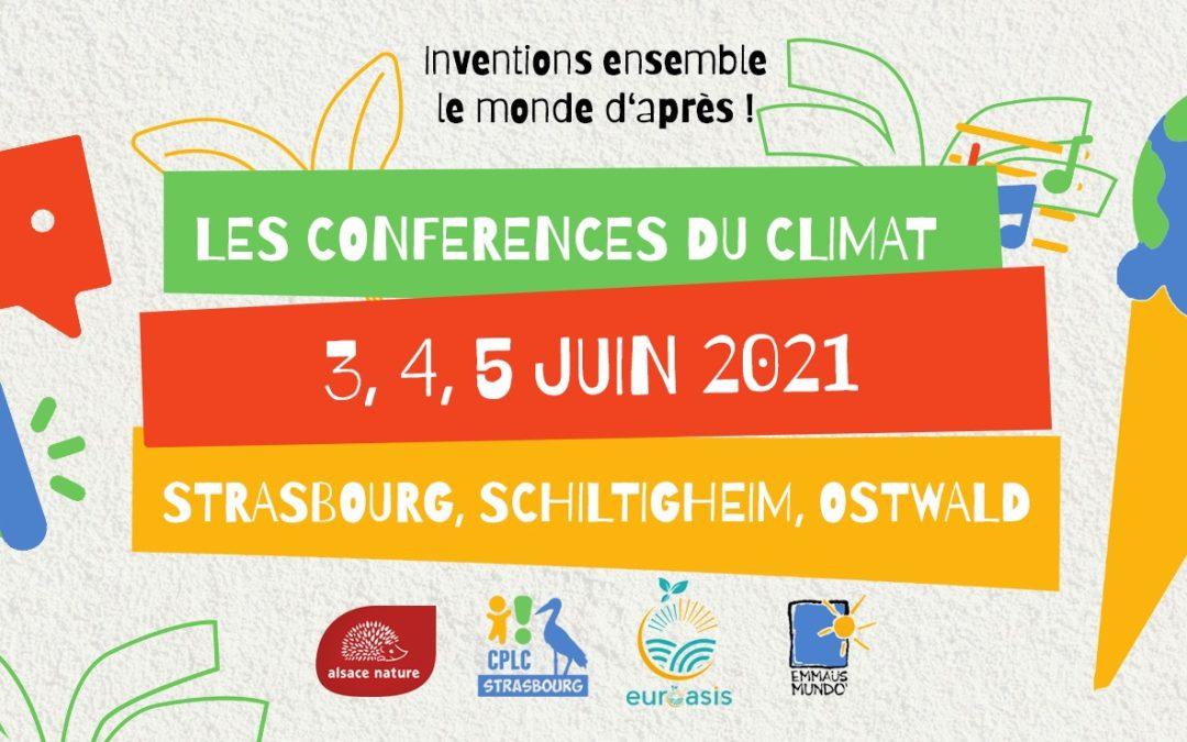 Conférences sur le Climat en juin – et festival en octobre…