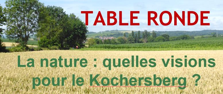 [Table ronde] – La nature : quelles visions pour le Kochersberg ?