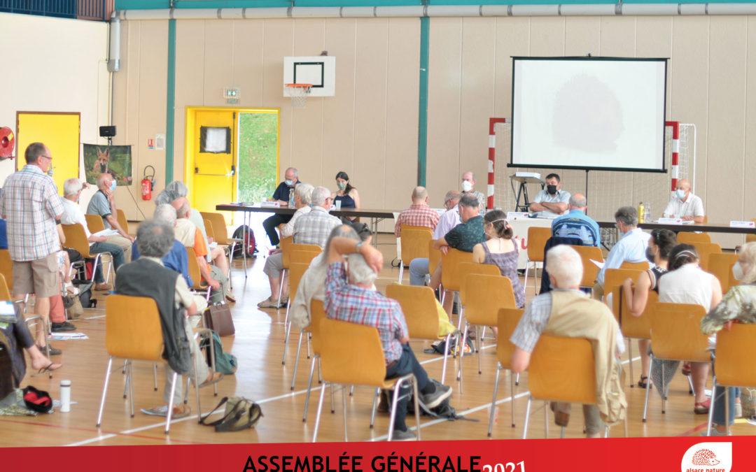 Assemblée Générale 2021 d'Alsace Nature