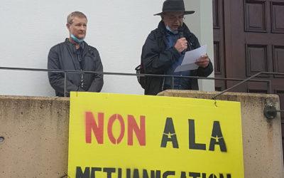 Retour sur la manifestation contre l'implantation d'un méthaniseur à Munchhouse (68)