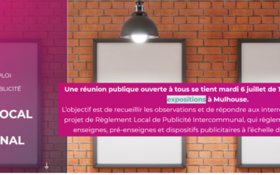 Mulhouse  : Règlement local de la publicité intercommunal (RLPi), les associations dénoncent un projet timide et dangereux.