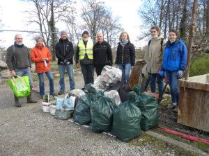 Collecte de déchets sauvages autour du Lac du Ballon @ Grand Ballon