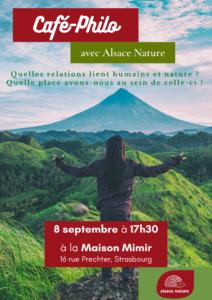 café-philo : relations entre humains et nature @ maison mimir Strasbourg   Strasbourg   Grand Est   France