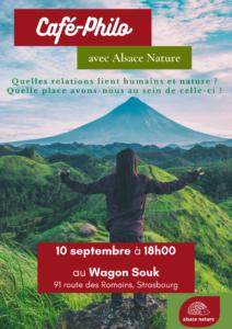 café-philo : relations entre humains et nature @ le wagon souk   Strasbourg   Grand Est   France