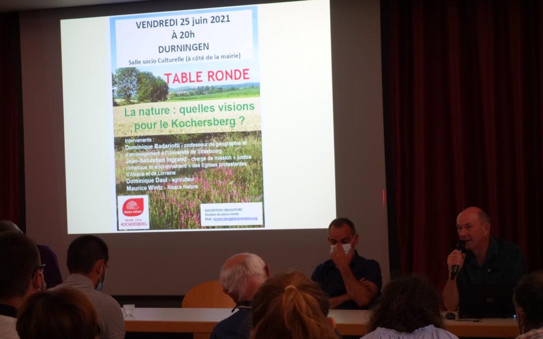 Retour sur la table ronde sur les visions de la nature dans le Kochersberg