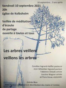 [GCO] Veillée pour les arbres à Kolbsheim - anniversaire 10 septembre @ église de Kolbsheim   Kolbsheim   Grand Est   France