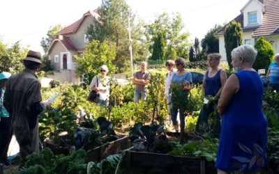 Retour sur la visite d'un jardin en permaculture dans le Kochersberg