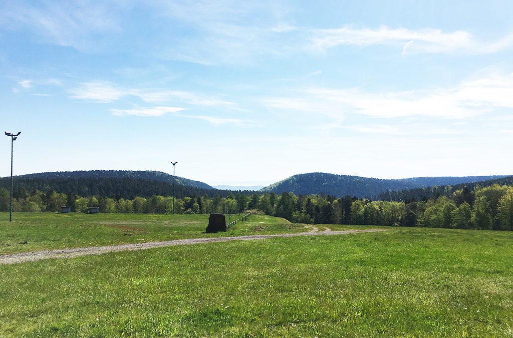 Prairie et de la forêt du Langacker menacées par le projet de TRAIL CENTER