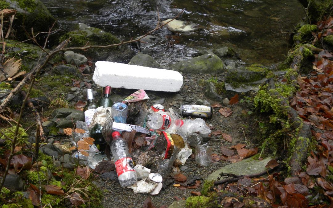 [chantier] collecte de déchets à Murbach